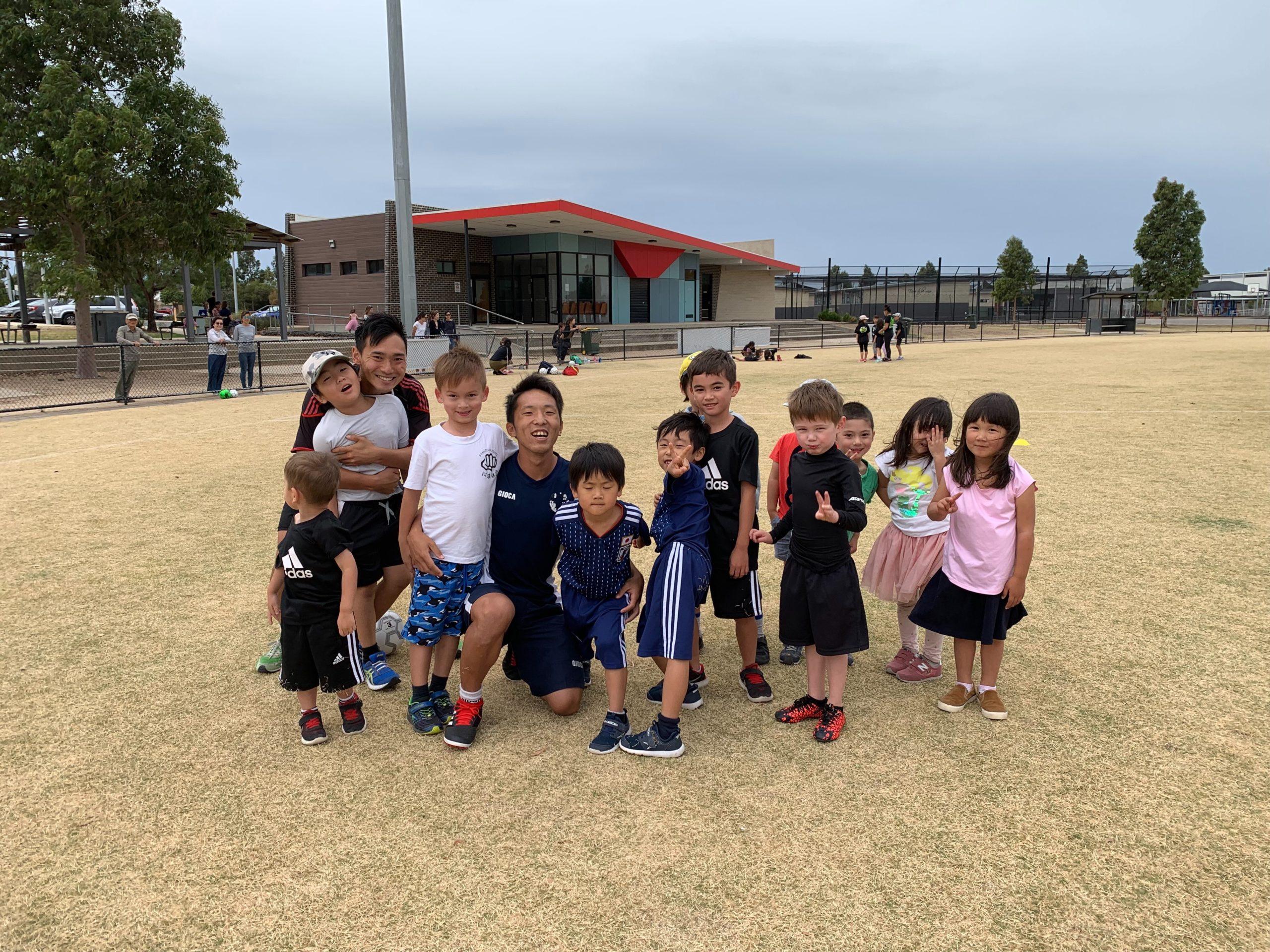 サッカースクールを始めさせて頂きました。